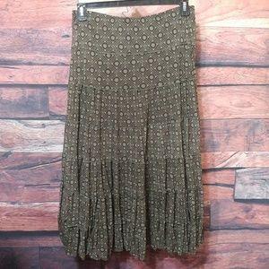 ♥️♥️♥️StudioM tiered/Gypsy skirt size L